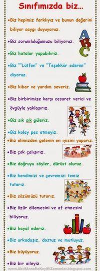 AKTİF ANNE ile keyifli zamanlar...: Okula başlayan çocuklar için motive edici...