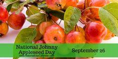 National Johnny Appleseed Day September 26