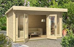 Amazing Shed Plans - Dorset log cabin, garden office, Log Cabins for sale, Free Delivery Now You Can Build ANY Shed In A Weekend Even If You've Zero Woodworking Experience! Start building amazing sheds the easier way with a collection of shed plans! Log Cabins For Sale, Modern Log Cabins, Log Cabin Kits, Office Pods, Garden Cabins, Garden Sheds, Summer House Garden, Summer Houses Uk, Double Vitrage