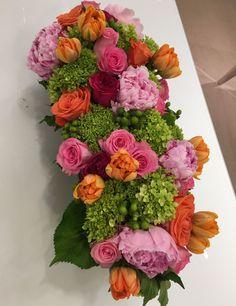 Beautiful flowers at Neiman Marcus luncheon