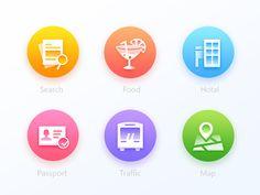 6   Icon  design    for  news  app