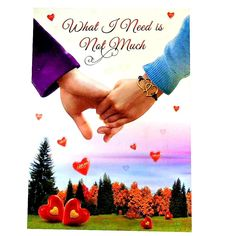 I love you greeting card - perfect gift for valentine day