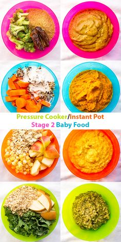 4 Nutritious Pressure Cooker/Instant Stage 2 Baby Food recipes that you can make in 3 minutes and your baby will love! 4 Nutritious Pressure Cooker/Instant Stage 2 Baby Food recipes that you can make in 3 minutes and your baby will love! Baby Food Recipes 6 9, Healthy Baby Food, Baby Puree Recipes, Pureed Food Recipes, Healthy Recipes, Food Baby, Baby Food Puree, 9 Month Old Baby Food, Avocado Baby Food