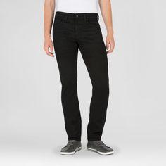 Denizen from Levi's Skinny Fit Jeans Onyx Men's 216, Size: 34x30, Black