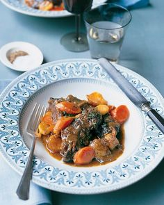 Short Ribs with Root Vegetables - Martha Stewart Recipes