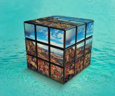Tbilisi in Kubik Rubik, digital art by Levan Tchkonia - Ego - AlterEgo Decorative Boxes, Digital Art, Graphic Design, Photography, Travel, Voyage, Viajes, Traveling, Photograph