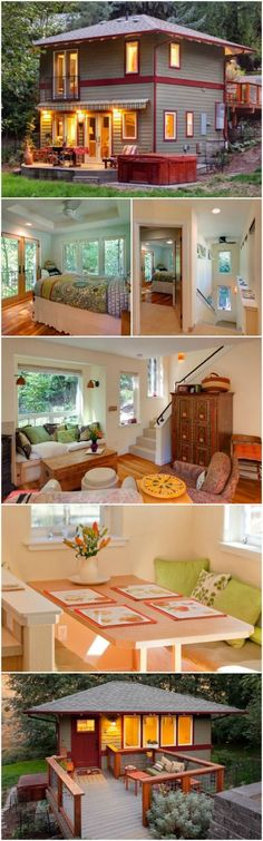 The Roca Residence Designed by Carlos Delgado is Stunning and Tiny - When renowned architect Carlos Delgado had clients come to him asking for a fully functional house with only a 357 square foot footprint, he rose to the challenge and delivered an amazing tiny house! The total square footage came in at 664 square foot and is owned by a very happy family in Oregon.