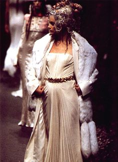 John Galliano for Givenchy Fall-Winter Haute Couture 1996
