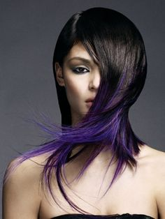 Gorgeous Purple Ombre Hair color Mestel Marie You could do this now! Long Purple Hair, Purple Ombre, Ombre Hair Color, Purple Tips, Hair Colors, Purple Rain, Deep Purple, Blue Hair, Dark Ombre
