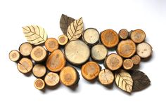 Branch and Pallet Wall Hanging - Wall art - Topograpghy. $55.00, via Etsy.