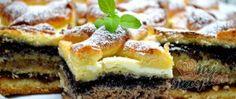 Recept Štědrovečerní skládaný koláč - ŠTĚDRÁK Kefir, Naan, Sushi, French Toast, Breakfast, Ethnic Recipes, Food, Top Recipes, Sheet Cakes