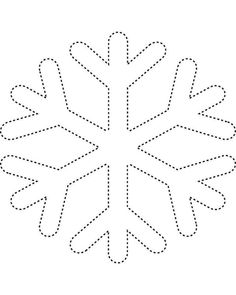 FREE Snowflake Shapes Worksheet & Coloring Page! | Pinterest ...
