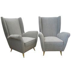 1950u0027s Italian Lounge Chairs