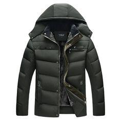 Paixpays Womens Winter Lapel Collar Duck Down Jacket Coat Parka Outwear S-3Xl