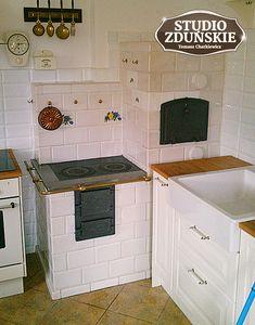 kuchnie25b Wall Oven, Studio, Kitchen Appliances, Home, Stove, Fire Places, Kitchens, Bedroom, New Kitchen