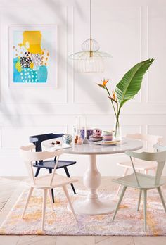 Slide View: 7: Annaway Dining Table