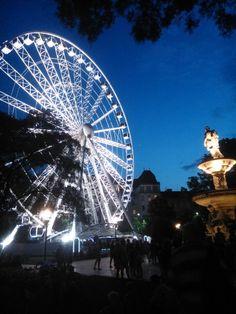 Budapest Eye - the ferris wheel on Erzsébet square #Hungary #Budapest #travel
