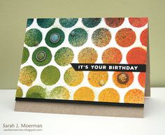 My Impressions: Simon Says Stamp It's Your Birthday Card