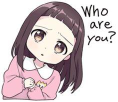 A little girl Sticker 9 EN – LINE stickers | LINE STORE Dibujos Anime Chibi, Cute Anime Chibi, Cute Anime Pics, Anime Girl Cute, Anime Art Girl, Kawaii Anime, Anime Stickers, Kawaii Stickers, Anime Siblings