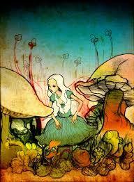 Image result for alice in wonderland art