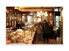 While visiting Vienna, enjoy a leisurely stop at one of the city's famed coffeehouses.  The Demel has been creating delicious treats for over 200 years; choose from cream cakes, tea scones, apple strudels, Sacher tortes and cakes.  Sip your coffee, enjoy a sweet treat, and indulge in the company of great friends and a beautiful café!
