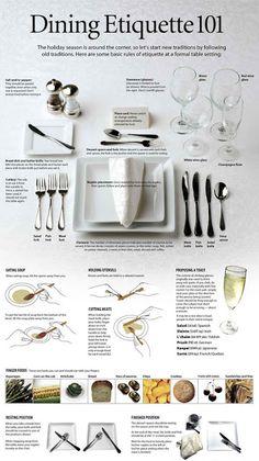 Dining Etiquette 101 #party planning #diy #etiquette  http://3.bp.blogspot.com/-WevcvvnGUPo/UCEbBAFN5RI/AAAAAAAADTA/z9IoVLYmPuE/s1600/table-manners.jpeg