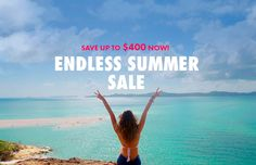 CONTIKI ENDLESS SUMMER SALE. Save up to $400 now! Follow the sun to experience an endless summer...  Summer might be over in our part of the world, but it's always beach season somewhere!