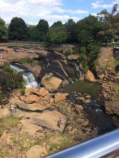 Falls Park Greenville South Carolina