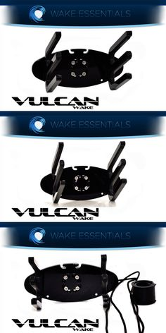 Other Wakeboarding Waterskiing 15272: Wakeboard Tower Rack *Black* Vulcan Wake Rack -> BUY IT NOW ONLY: $79 on eBay!