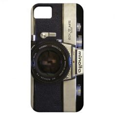 Vintage Camera Case iPhone 5 Cover