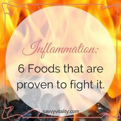 Inflammation is a fact. Scientists are finding that inflammation in our bodies can be pretty bad for our health; especially when it's chronic.