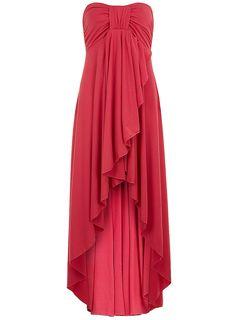 Cerise maxi dress - Izabel London - Brands at DP - Clothing - Dorothy Perkins