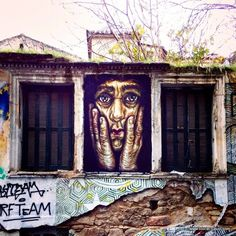 street art in exarchia athens >> Read my street art guide of Athens here: As seen on the streets of Athens: http://www.blocal-travel.com/2015/01/as-seen-on-streets-of-athens-street-art.html