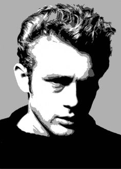 Iconic James Dean Canvas Painting - Iconic Canvas Art