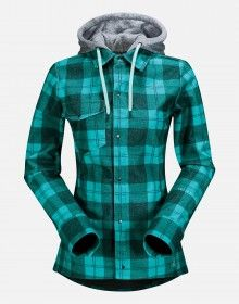 Volcom Circle Flannel Jacket- DWR material for that Steezy style.  Love