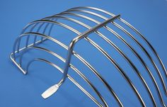 Stainless steel wire guard used in food processing -