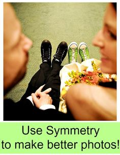 Using Symmetry can draw your reader into your photo.  See examples here!