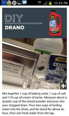 Homemade Drano