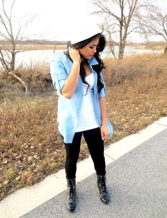 BelindaSelene: How To Style: Combat Boots ft. Pink and Pepper