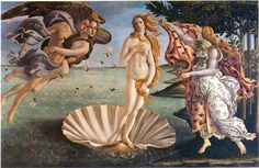 for a bathroom - The Birth of Venus, Boticelli