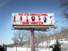 When the Weather Is Bad, Digital Billboards for the Baywatch Movie Will Try to Cheer You Up | ADWEEK