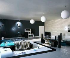 effektvolle-Inneneinrichtung-im-Schlafzimmer-moderne-Schlafzimmermöbel