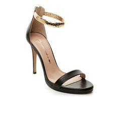 Mourtzi - Black Sandals
