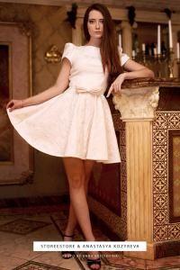 """Белое платье """"Мия"""""""