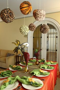Purim Table decor, table ideas, | Kosher Recipes and Jewish Table Settings