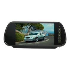 """New arrival 7"""" TFT LCD Rearview Car Monitors Parking Rearview Monitor +backup reverse camera night vision"""