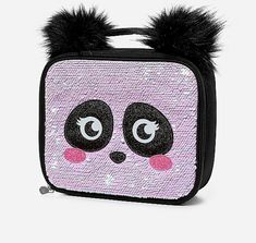 Justice Girl's Initial ( V ) Turquoise Glitter Lunch Tote New with Tags Justice School Supplies, Cute School Supplies, Panda Lindo, Minnie Mouse Toys, Looks Party, Mini Backpack Purse, Insulated Lunch Tote, Trendy Purses, Girl Backpacks