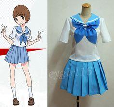 New Custom Made Mako KILL la KILL Mankanshoku Janpan School Uniform Cosplay Costume