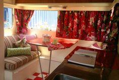 Caravan interior designed by Trelise Cooper
