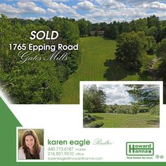 Sold! Best wishes to the sellers and new owners of this beautiful Gates Mills property! #GatesMills